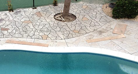 Carolinas Concrete Finishers | Rock Hill, Fort Mill, York | Poolside Patio